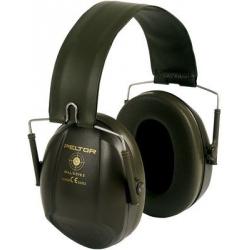 Casque anti-bruit Vert militaire - Serre-tête pliable