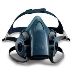 Demi-masque réutilisable en silicone série 7500 (petite taille)