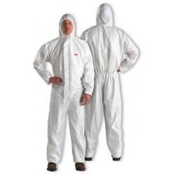 20 combinaisons de protection jetables 3M 4510 blanc