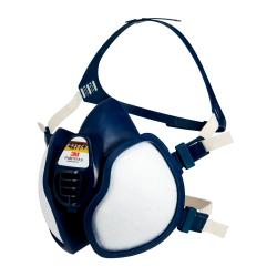 Demi-masque à filtres intégrés FFABE1P3 R D, 4277+