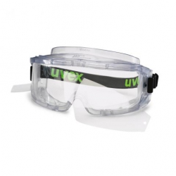 Masque UVEX Ultravision spécial porteur de lunettes + 2 films pelables