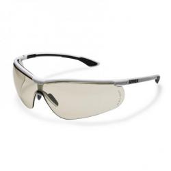 Lunettes à branches UVEX Sportstyle noir/blanc avec oculaire CBR