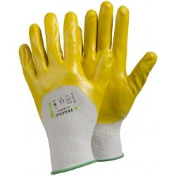 Gants de protection risques mécaniques nitrile TEGERA 722 (x12 paires)