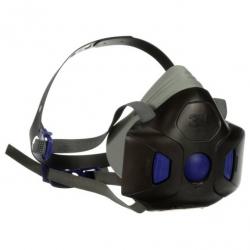 Demi-masque 3M Secure Click série HF-800 avec membrane phonique